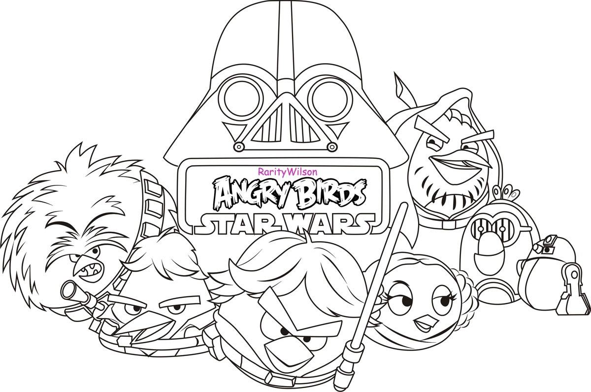 Star Wars Coloring Pages - Free Printable Star Wars Coloring Pages