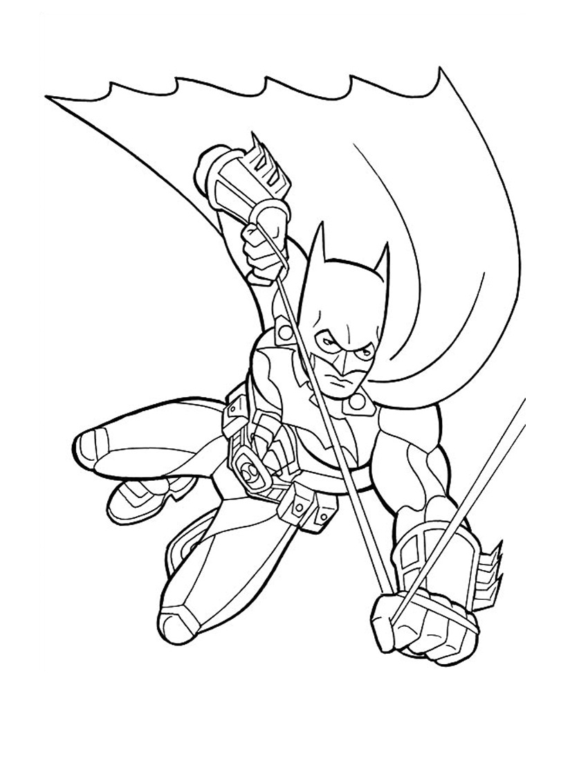 batmans coloring pages - photo#33