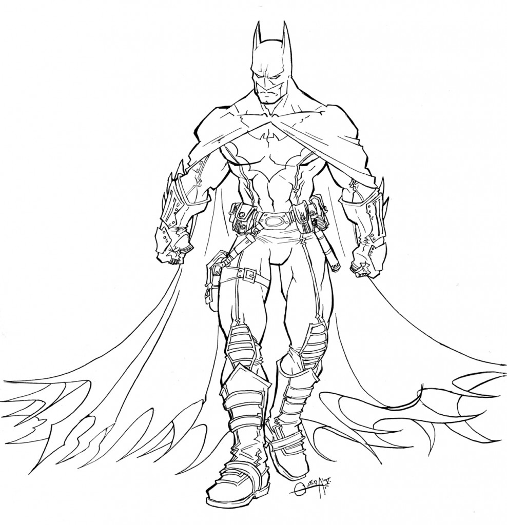 Coloring Pages For Youth : Free printable batman coloring pages for kids