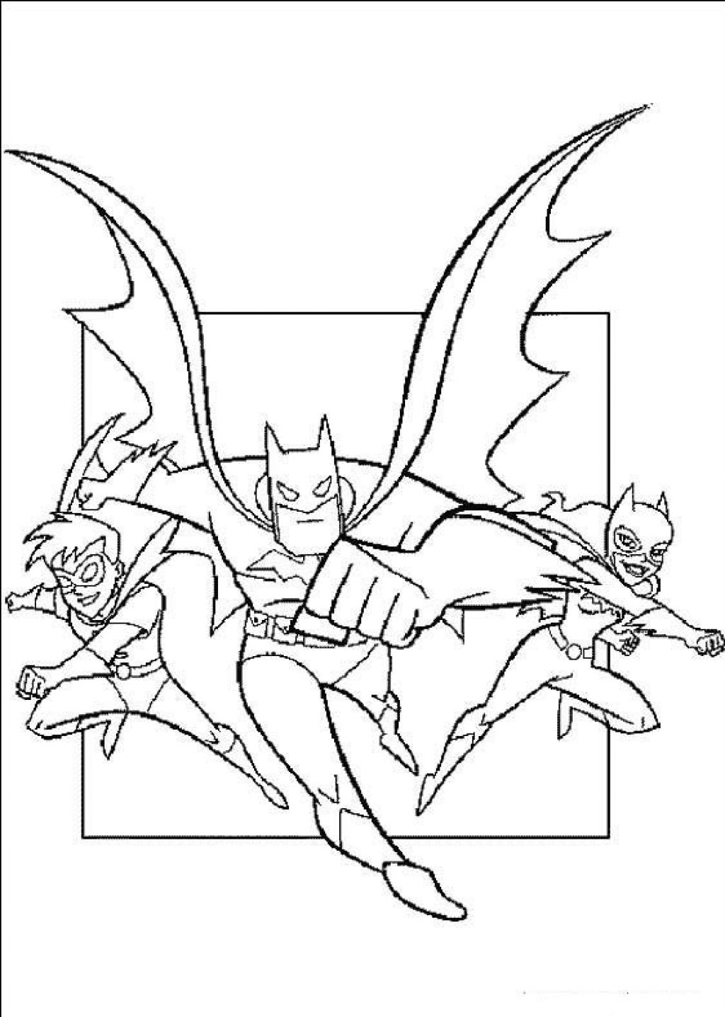 coloring pages batman printable logo - photo#25