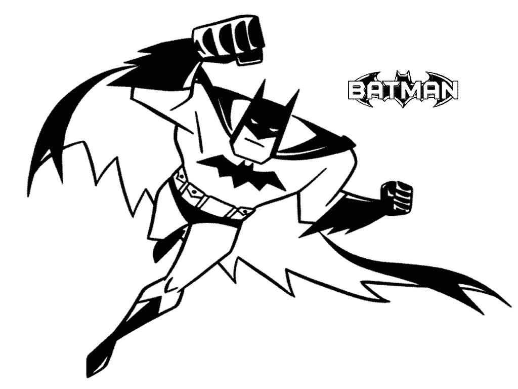 Printable coloring books - Batman Printable Coloring Pages