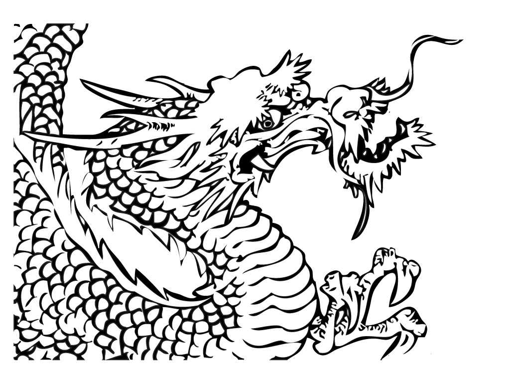 Printable coloring pages dragons - Coloring Page Dragon