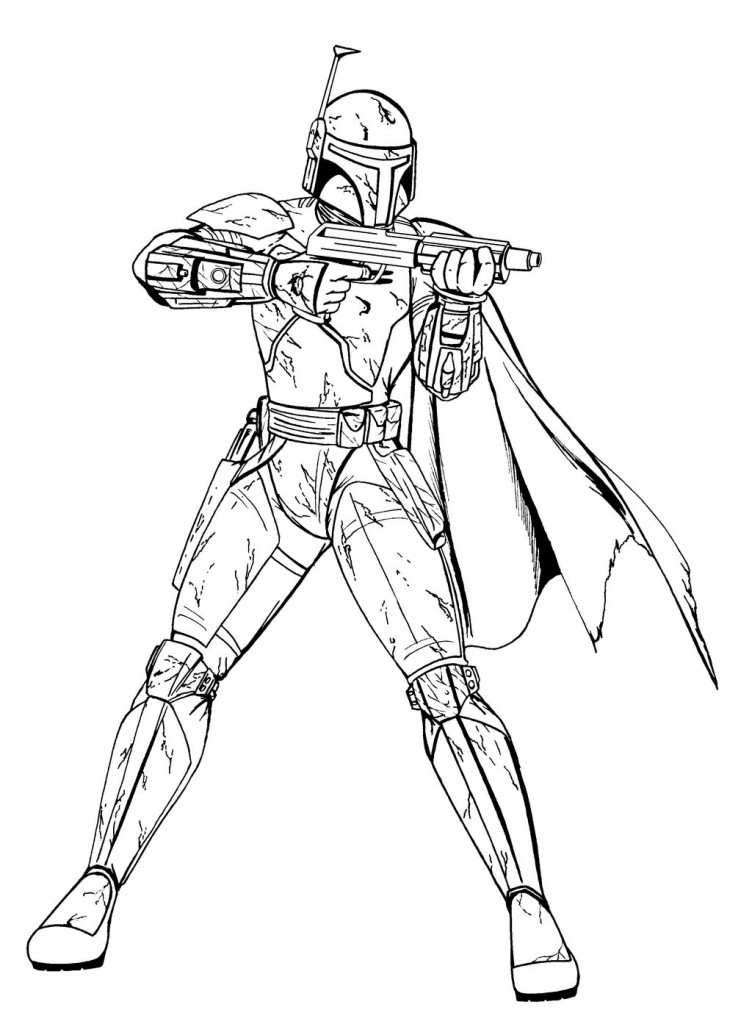 coloring pages and clone wars - photo#33