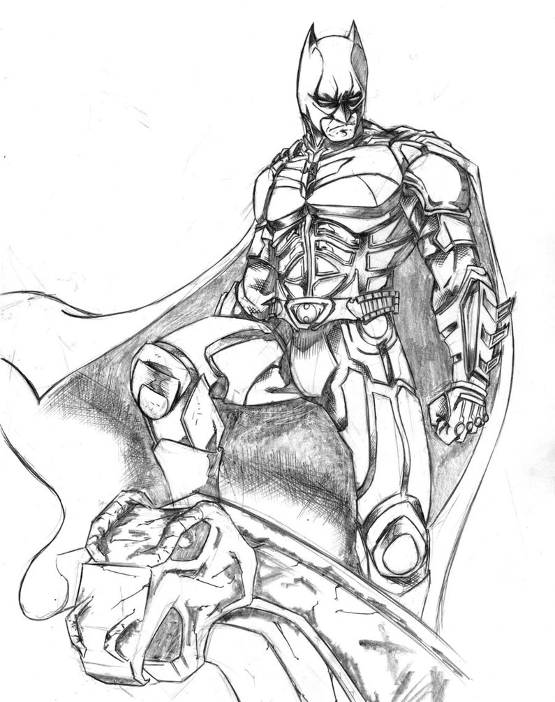 Batman Coloring Pages Dark Knight Coloring Pages