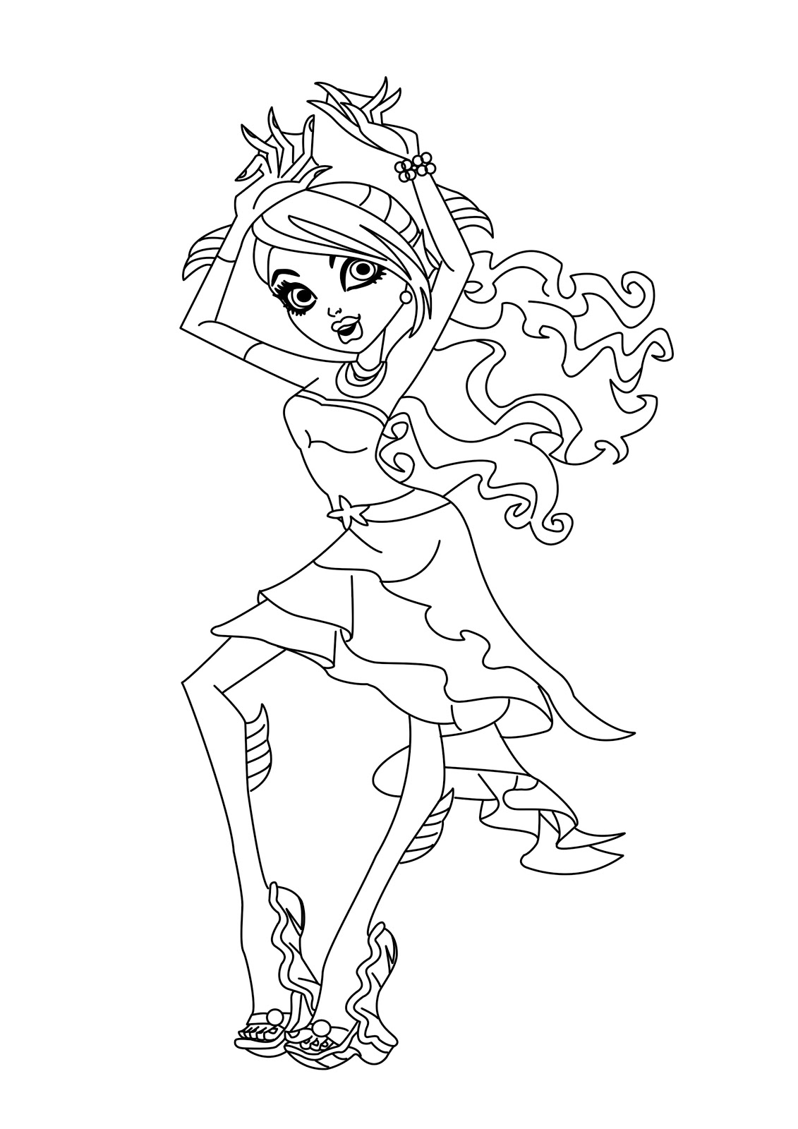 Coloring Pages Monster High Image