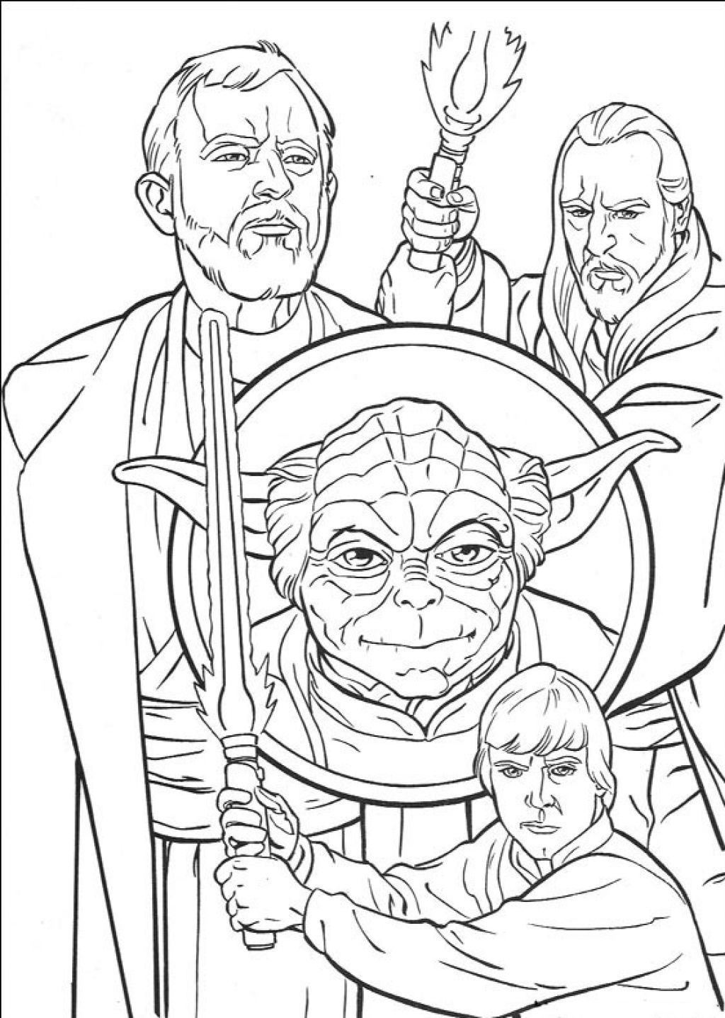 Online star wars coloring pages - Coloring Pages Star Wars
