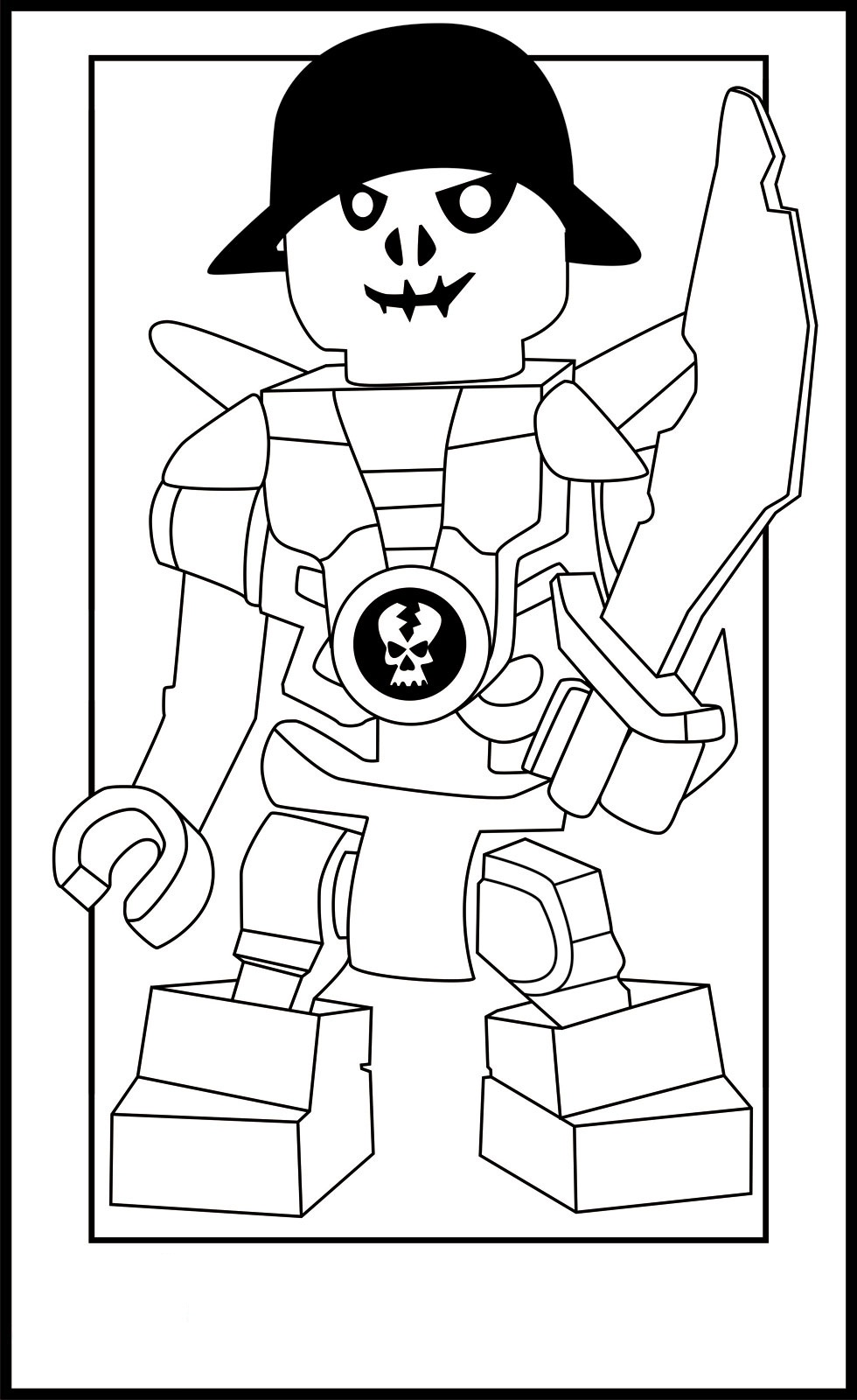 Free printable coloring pages lego ninjago - Coloring Pages Of Lego Ninjago