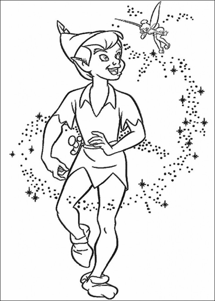 Free printable tinkerbell coloring pages for kids Coloring book for toddlers