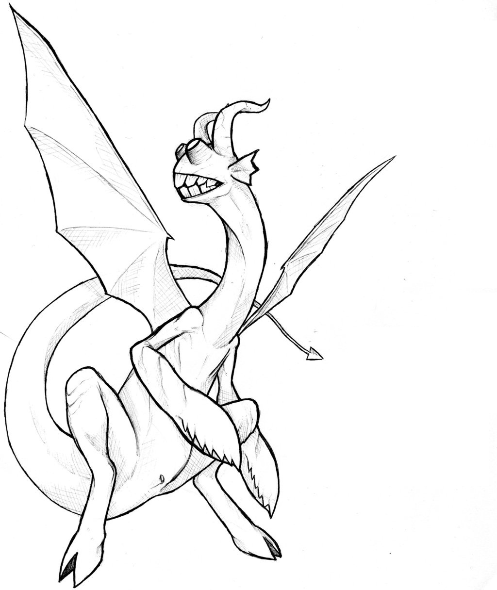 dragon coloring pages free - photo#26
