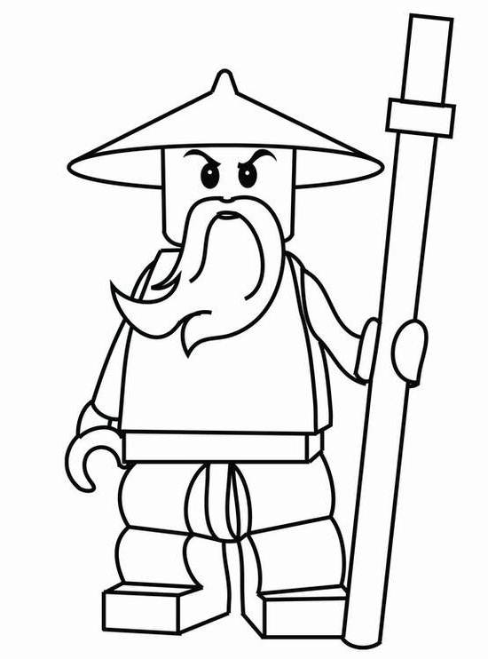 Free Coloring Pages Ninjago