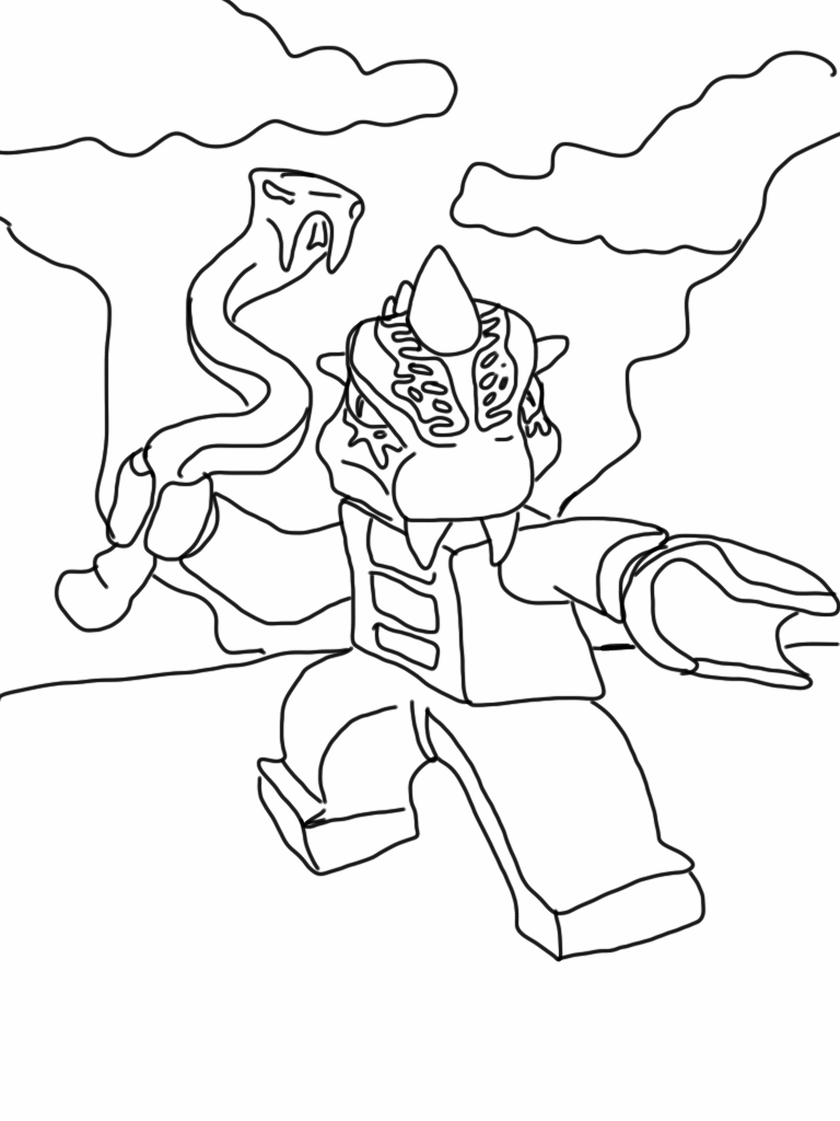 Free coloring pages snakes - Free Coloring Pages Of Ninjago