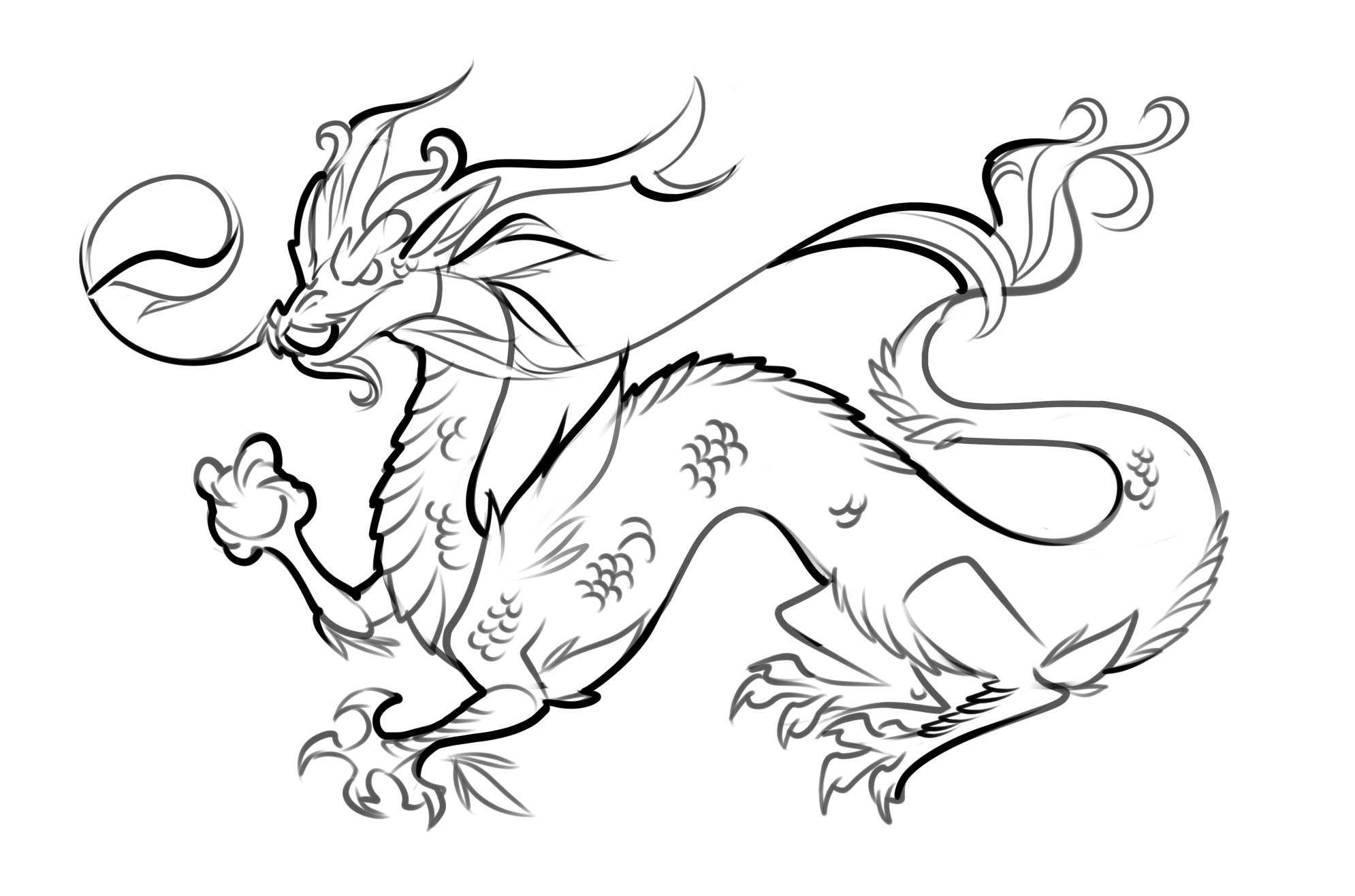 dragon coloring pages free - photo#10