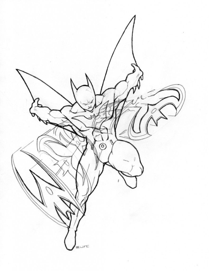 batman coloring pages online games - photo#25
