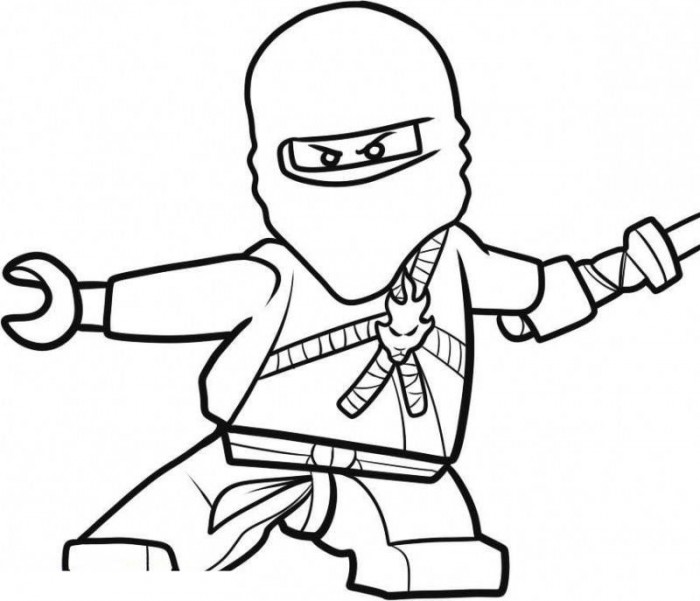 lego ninjago color pages - Coloring Pages For Kids Printable