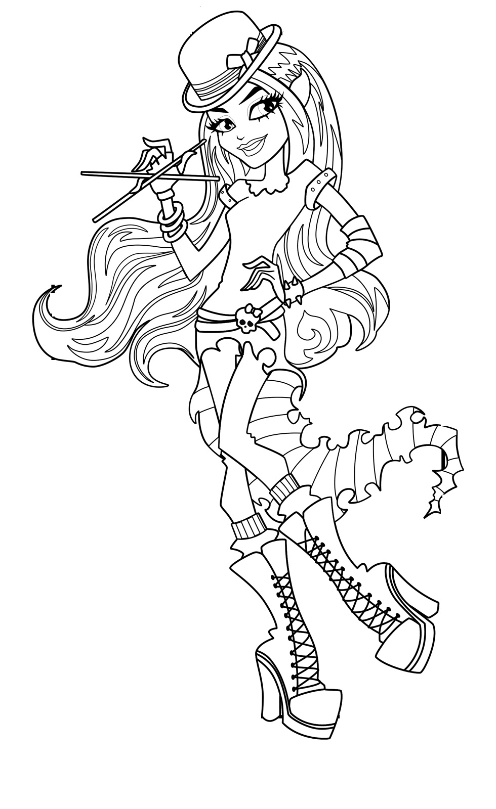 monster high coloring page images jinafire