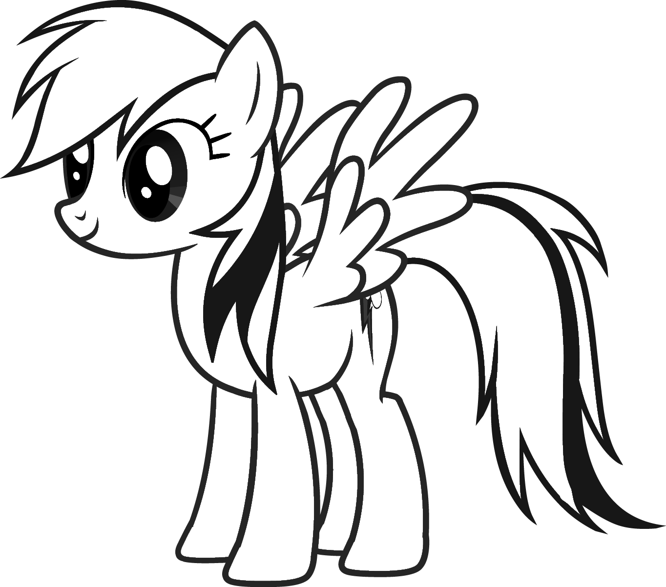 my little pony coloring page - Pony Coloring Pages