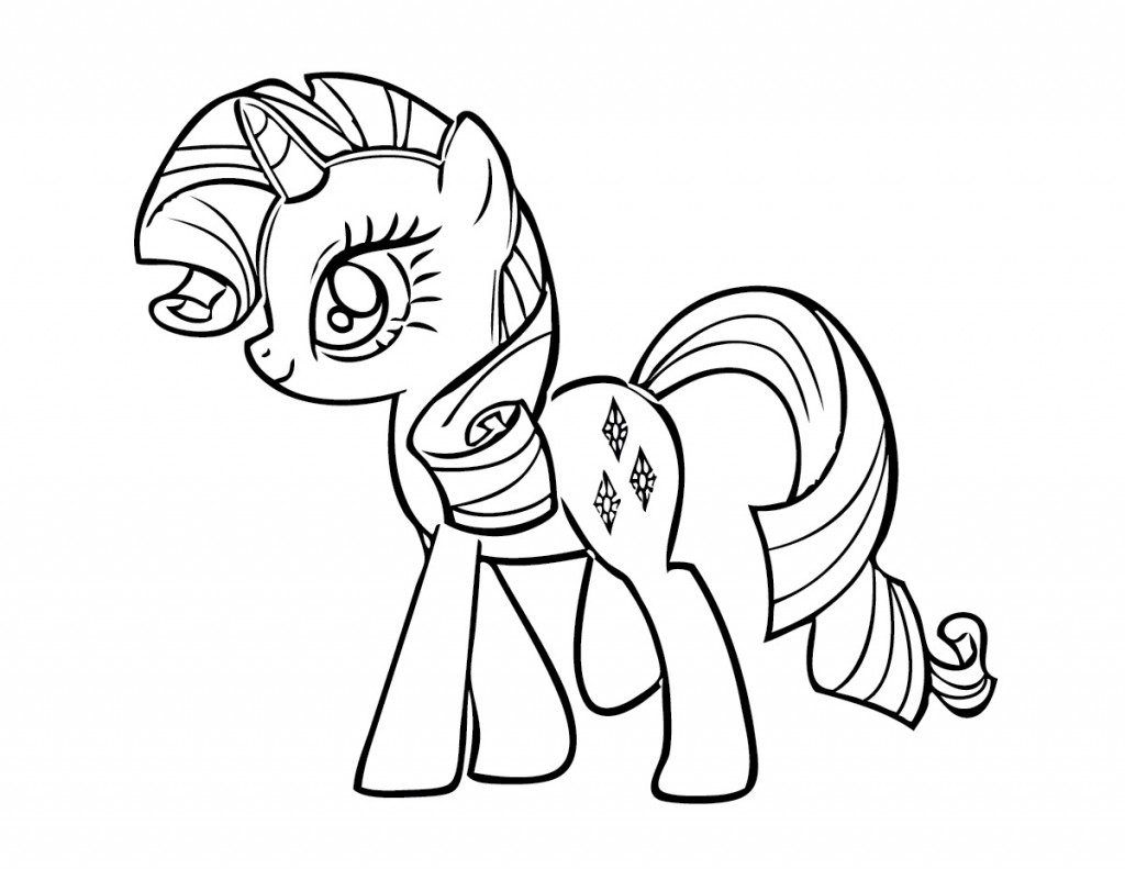 My Little Pony Coloring Pages to Print