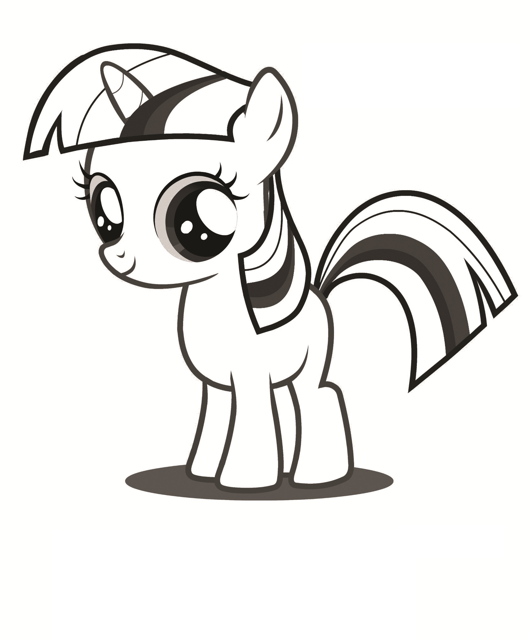 Free coloring in pages - My Little Pony Free Coloring Pages