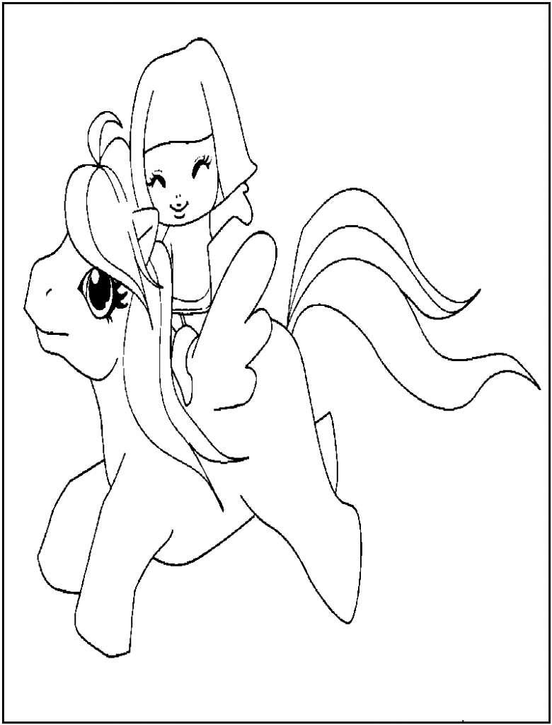 My Little Pony Friendship Coloring Pages