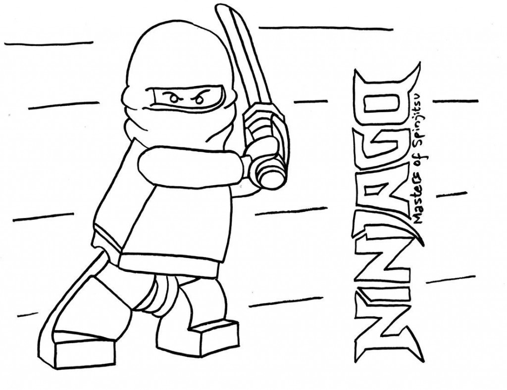 LEGO Ninjago Coloring Pages Print