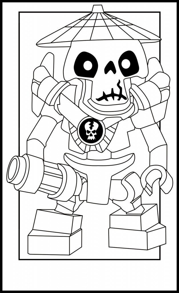 Ninjago Coloring Pages For Kids Printable