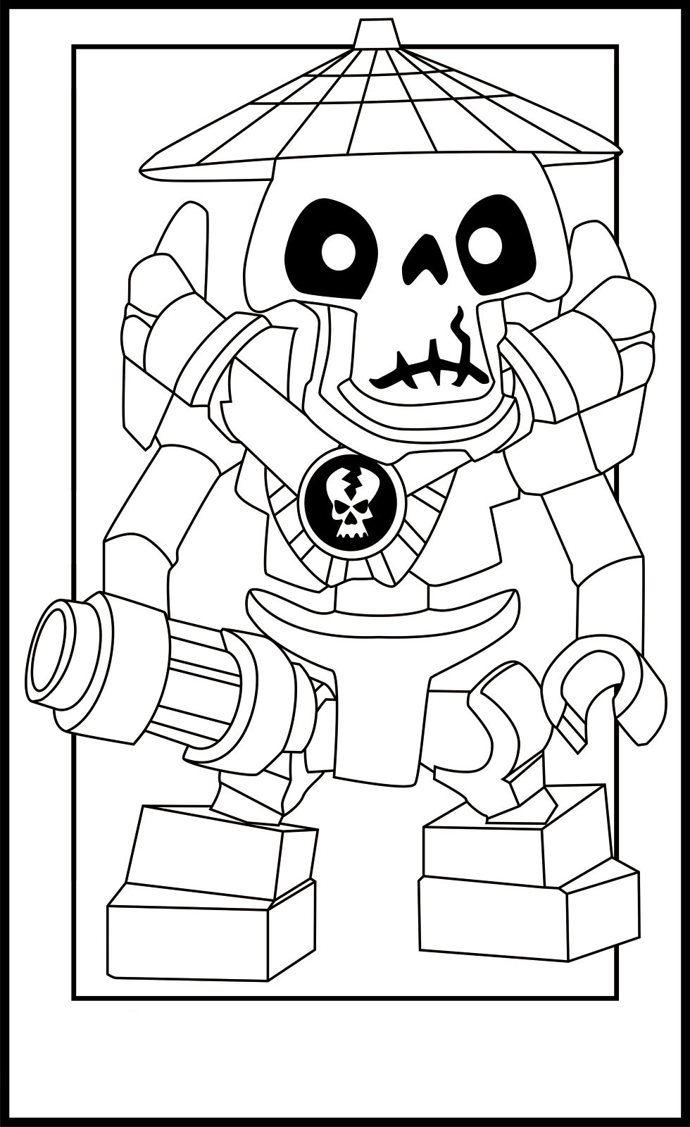 Cole ninjago coloring games online for kids - Ninjago Coloring Pages For Kids Printable