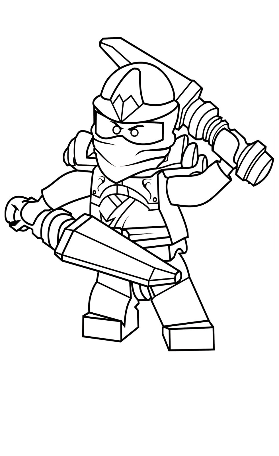Ninjago coloring pages printable