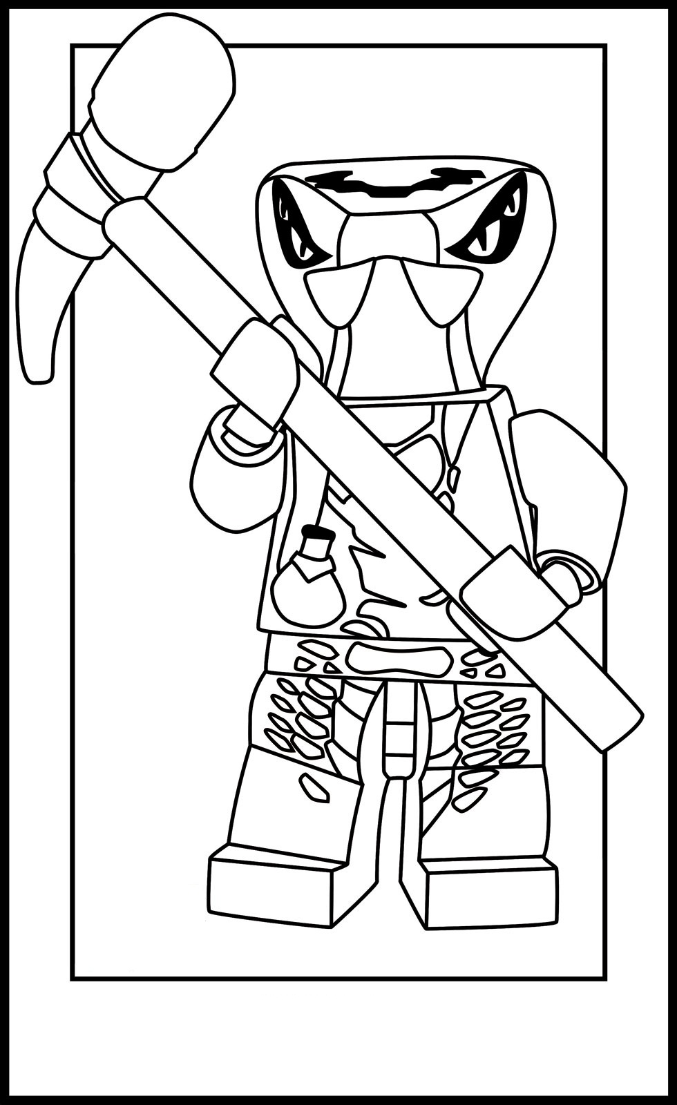 Lego Ninjago Ausmalen Coloring Pages Lego Ninjago Colouring Pages To Print
