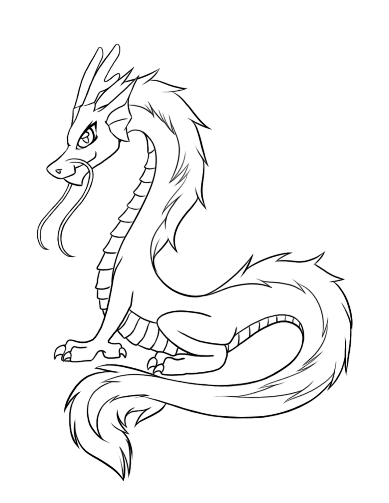 lion coloring pages realistic dragons - photo #9