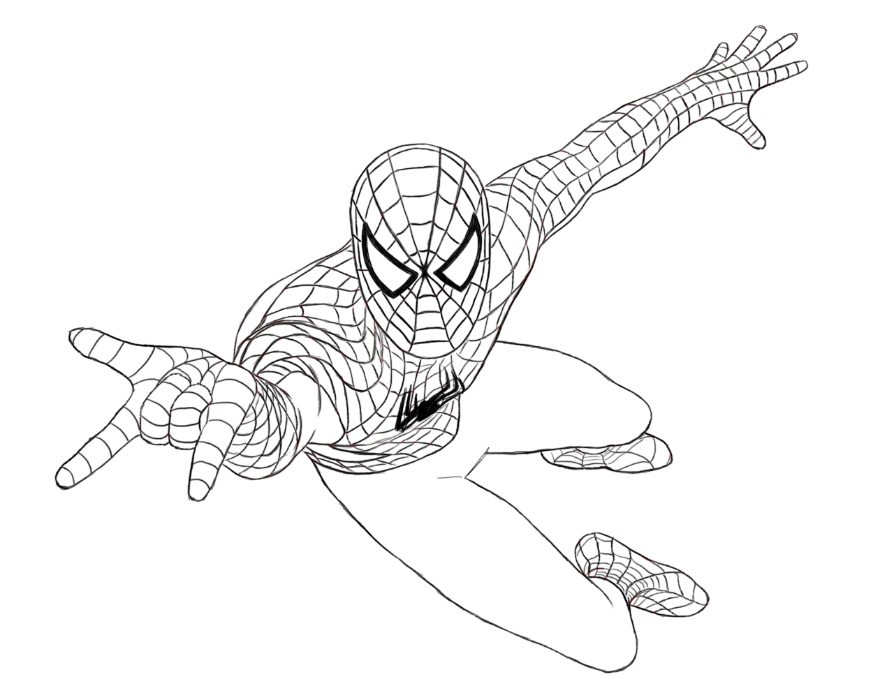 Spiderman Coloring Pages For Kids Free Printable Spiderman Coloring Pages For Kids