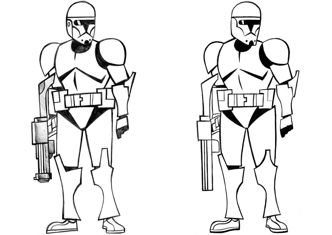 Clone Trooper Coloring Pages Printable Coloring Pages Clone Trooper Coloring Page
