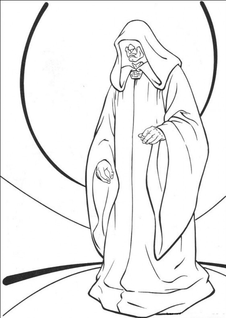 Stars Wars Coloring Pages