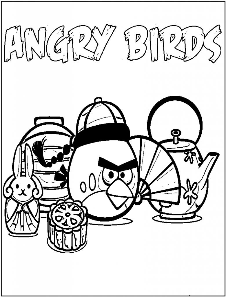 Free Printable Angry Bird Coloring