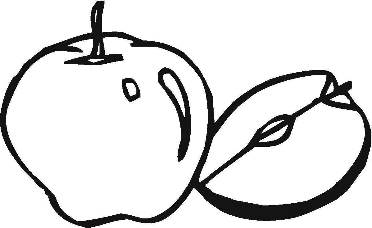 a apple coloring pages - photo #37
