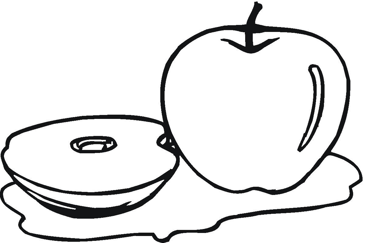 a apple coloring pages - photo #16