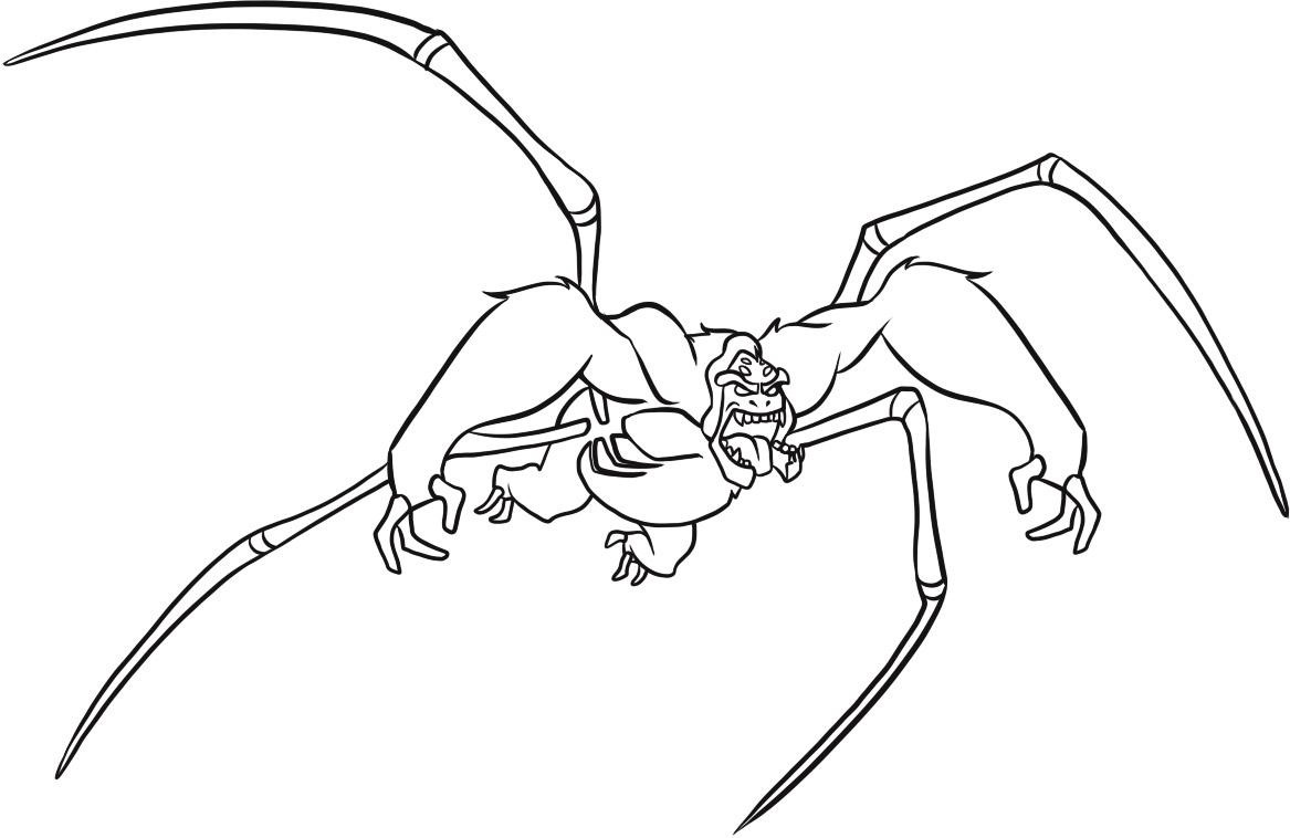 coloring pages ben 10 - photo#33