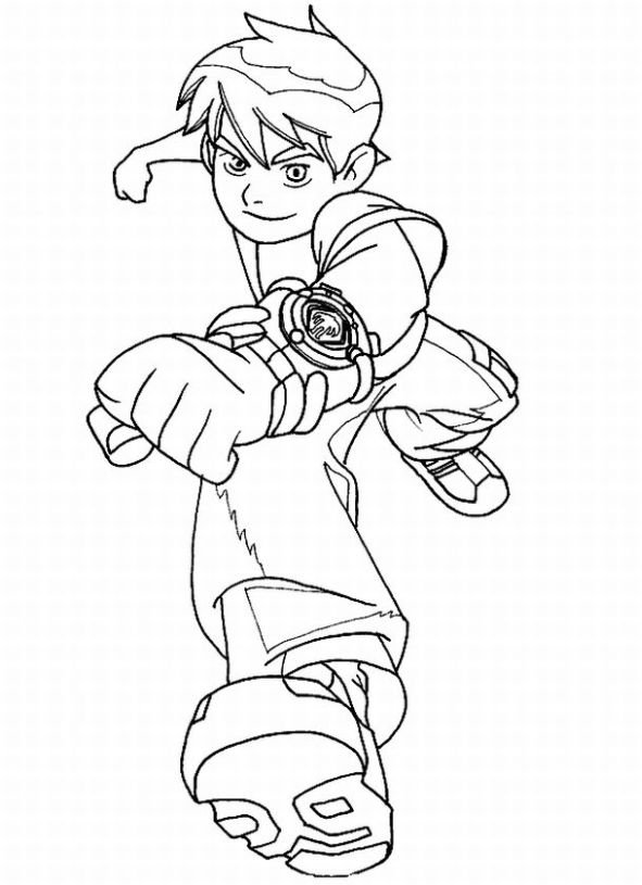 kids coloring pages ben10 - photo#13