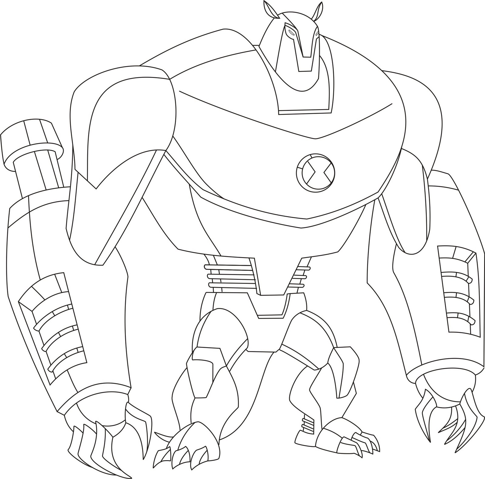 Free printable ben 10 coloring pages for kids for Ben 10 coloring pages games