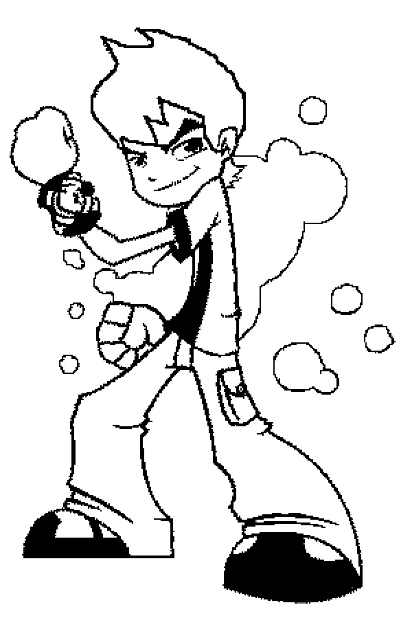 Ben Ten Coloring Pages