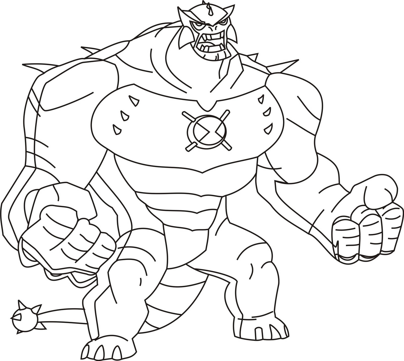 coloring pages ben 10 - photo#10