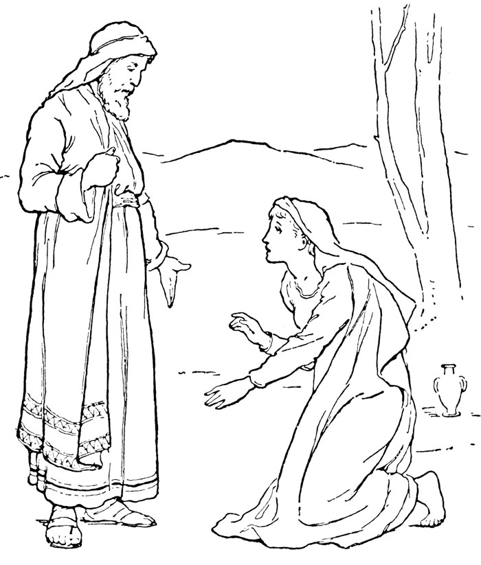 coloring pages from the bible - photo#34