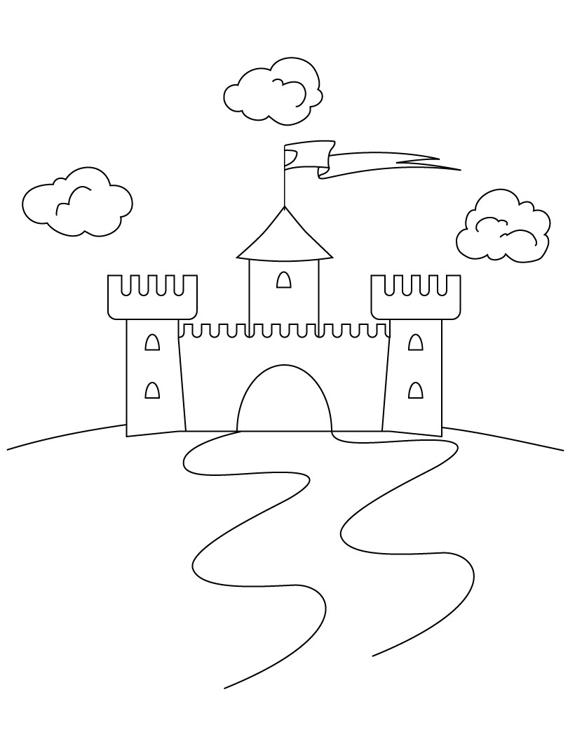 Printable coloring pages sand castle - Castle Crashers Coloring Pages