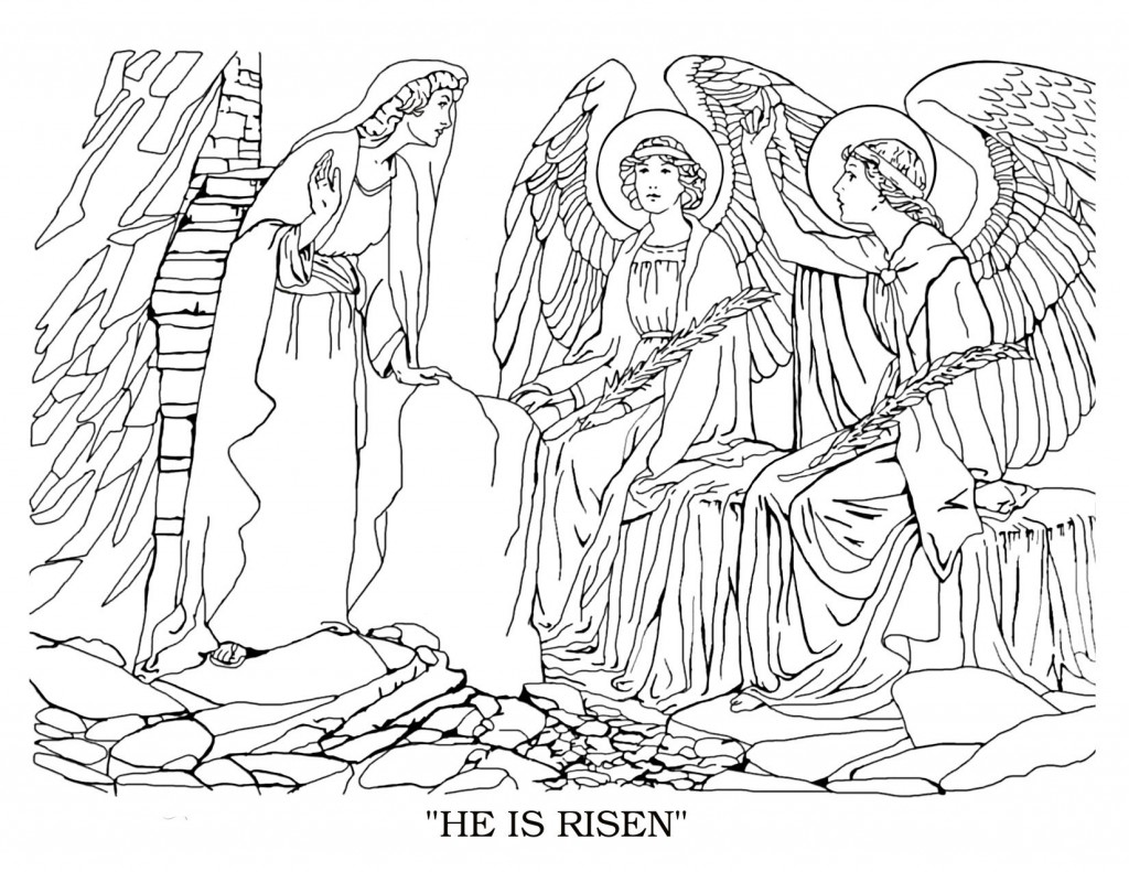 Children Bible Coloring Pages
