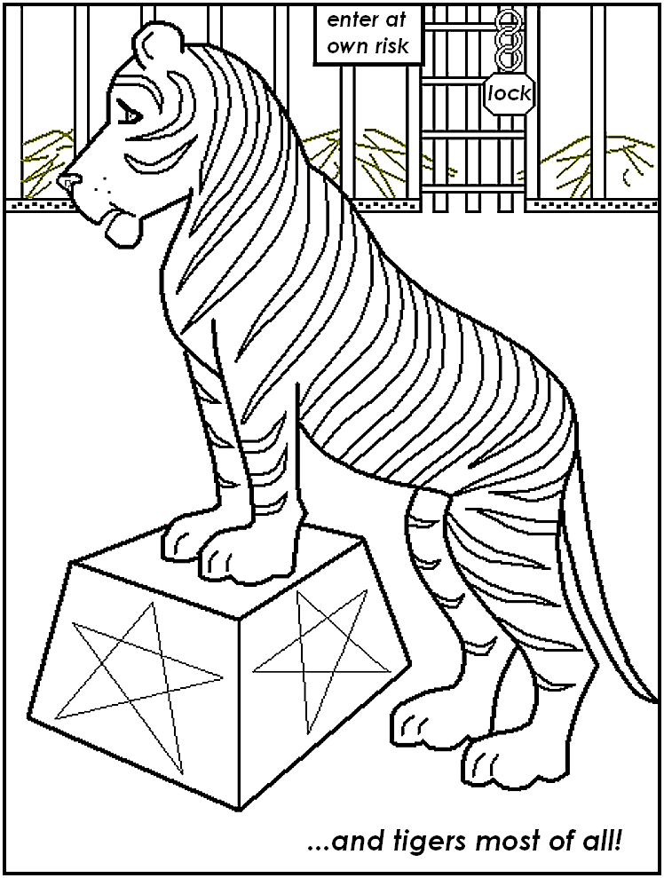 Free Printable Circus Coloring Pages For Kids Carnival Coloring Pages