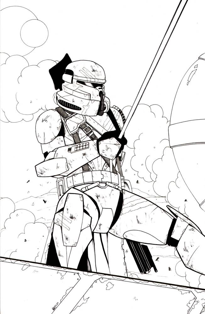 Color Star Wars Coloring Pages