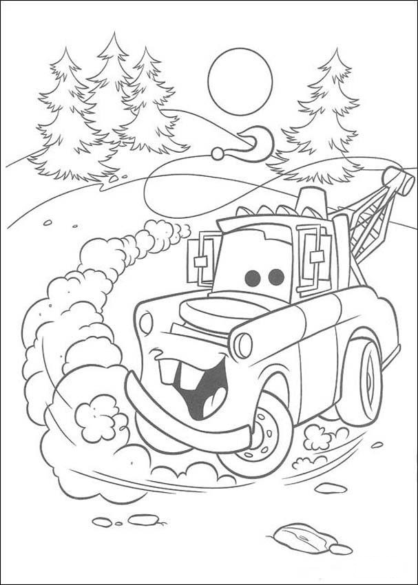 Coloring Page Monster Truck