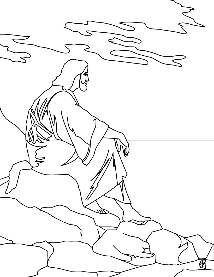 Free Coloring Pages Of Jesus Christ Born And Jesus Coloring Pages