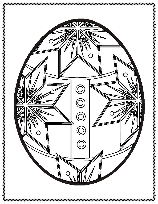 coloring pages easter eggs - photo#30