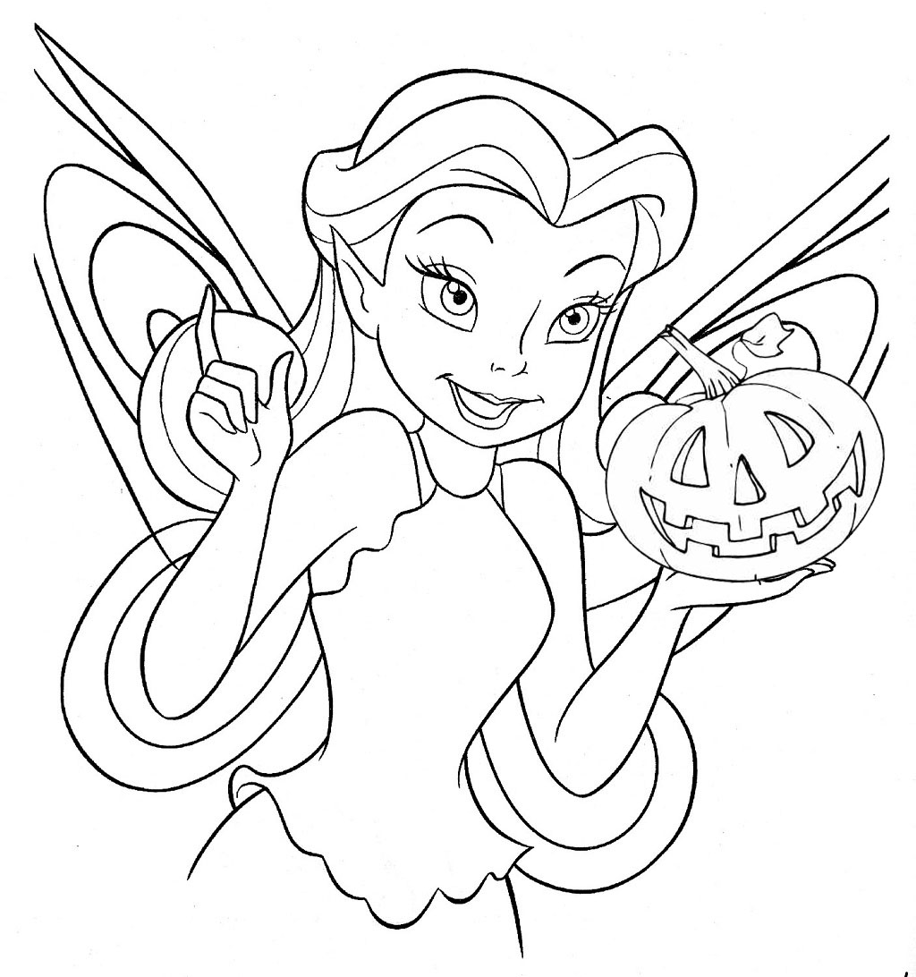 kids fairy coloring pages - photo#21