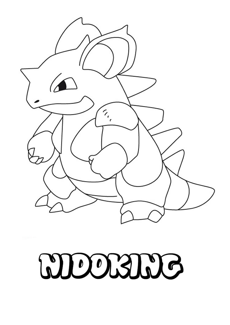 pokemon character coloring pages - photo#11